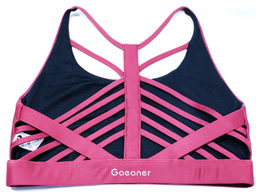 custom women's sports bra tops with high quality for ladies-11