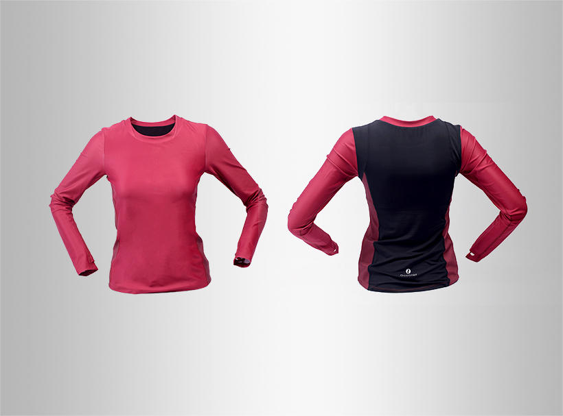 drawstring women compression Sports sweatshirts sleeve INGOR