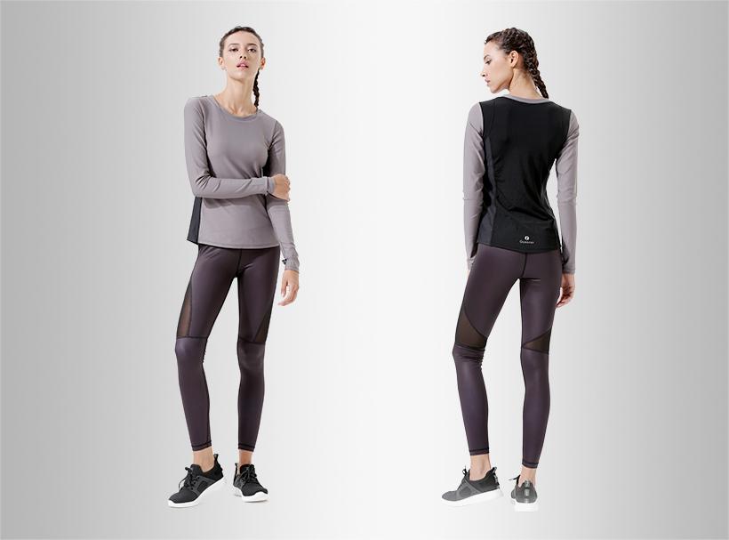 INGOR anti-Static black ladies sweatshirt shirts for women-1