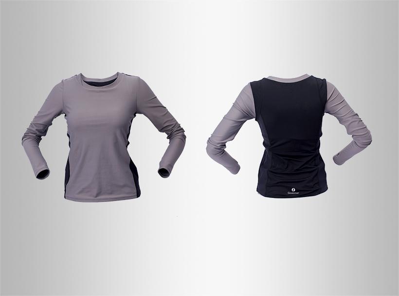 INGOR anti-Static black ladies sweatshirt shirts for women-2