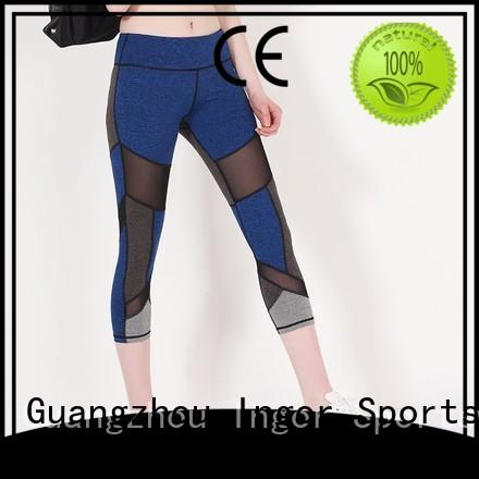 Custom brands yoga pants spandex INGOR