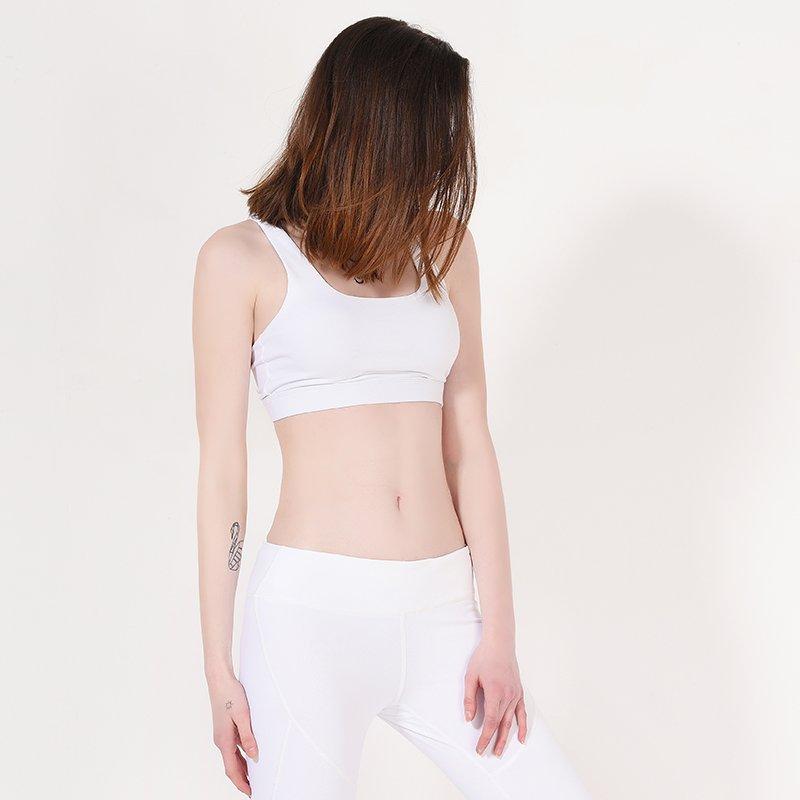INGOR Ladies White Padded Sports Yoga Bra Y1911B09 Sports bra image16
