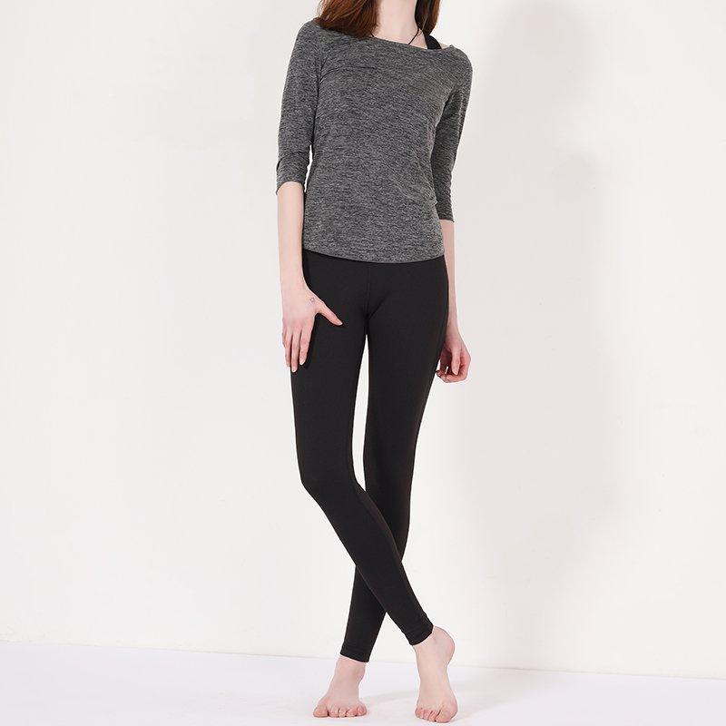 INGOR Custom long sleeve yoga shirts with drawstring Y1913T02 Sweatshirt image4