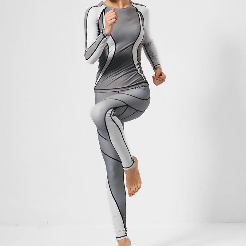 INGOR Long yoga sports sweatshirts shirts GRC16004 Sweatshirt image3