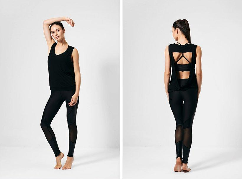 tank top yoga with racerback design for yoga-1