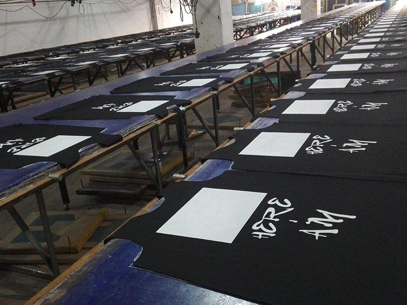 Factory process - Printing