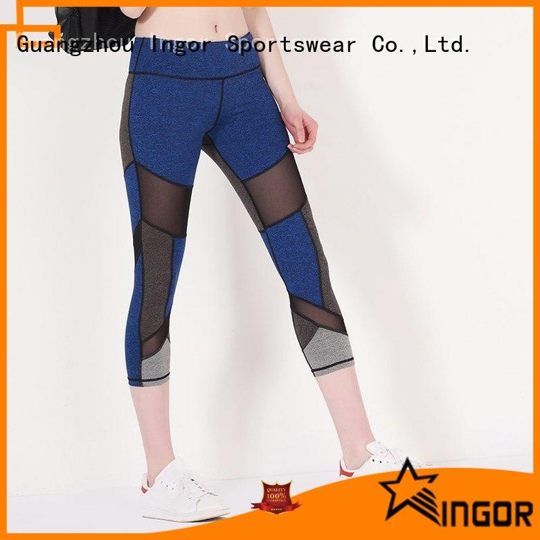 INGOR fashion yoga leggings with high quality at the gym