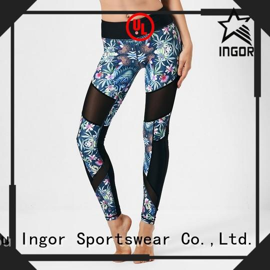 Quality INGOR Brand ladies leggings  dress patterned