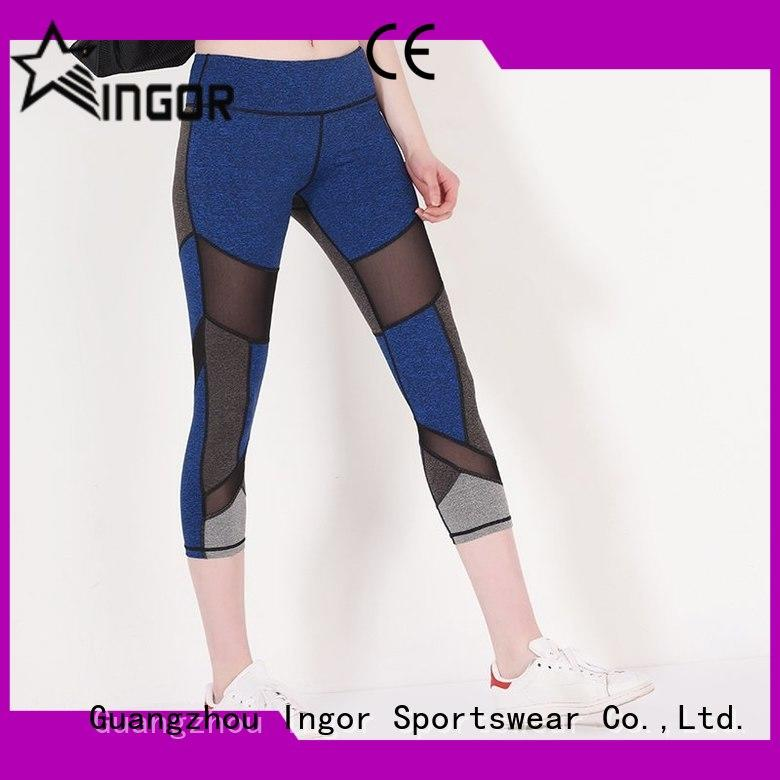 Quality INGOR Brand ladies leggings  blue plain