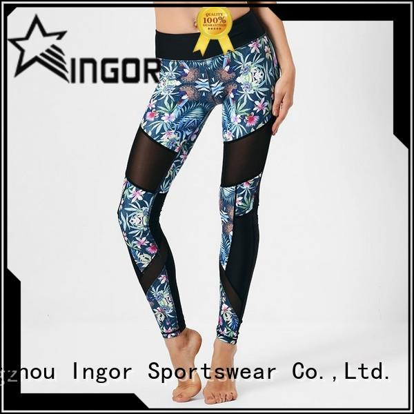 INGOR running running pants women with four needles six threads for sport