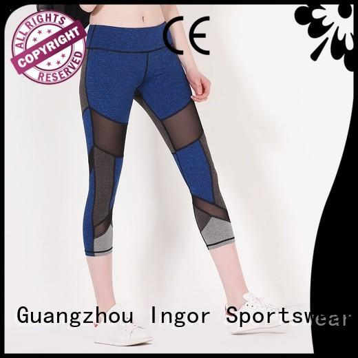 womens ladies leggings waist print INGOR Brand