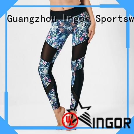 Custom patterned exercise yoga pants INGOR leggings