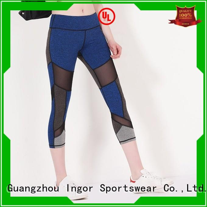 women's yoga capris running for sport INGOR