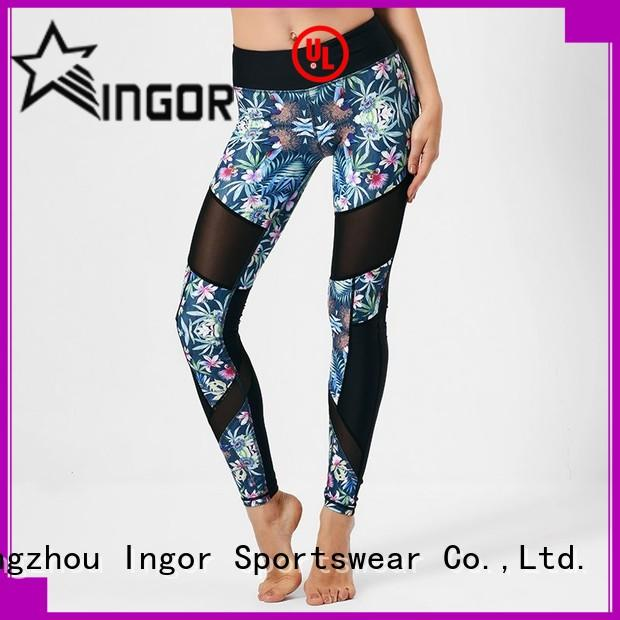 INGOR leggings with four needles six threads for ladies