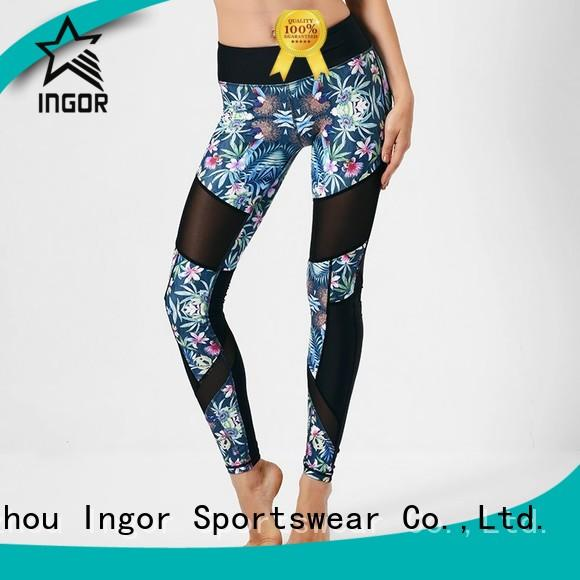 ladies leggings  patterned yoga pants INGOR Brand
