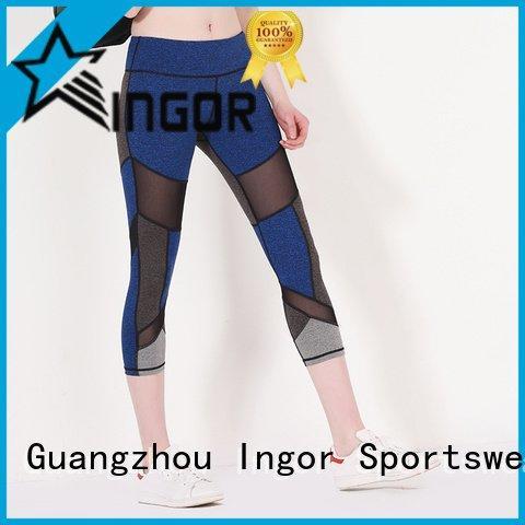 waist ladies leggings yoga INGOR company