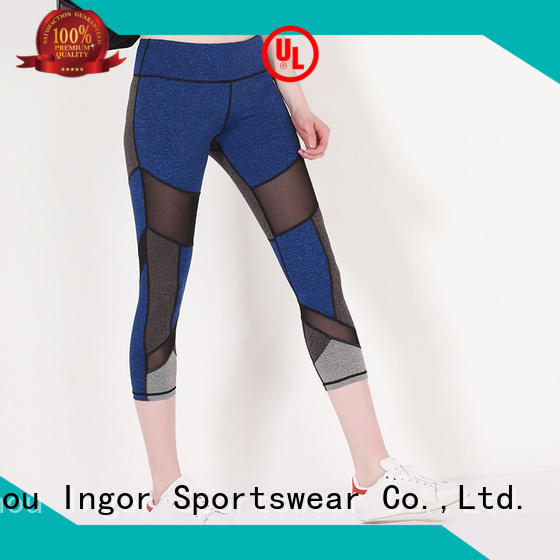 Custom running yoga pants waist INGOR
