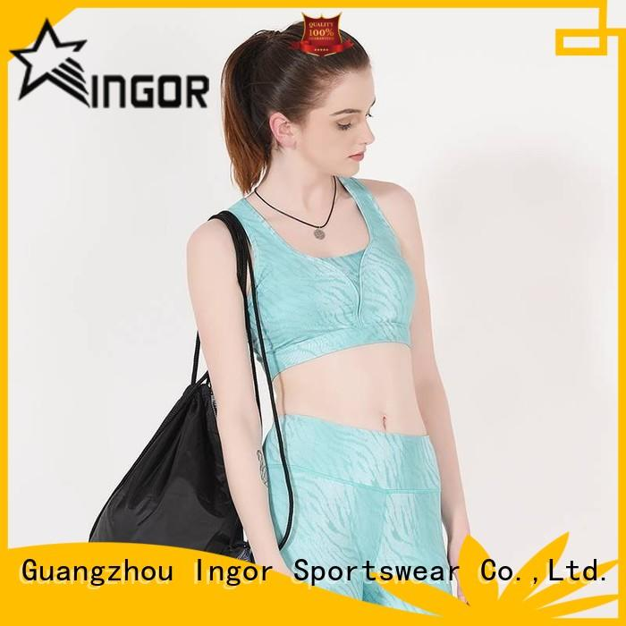 INGOR comfortable sports bra to enhance the capacity of sports for girls