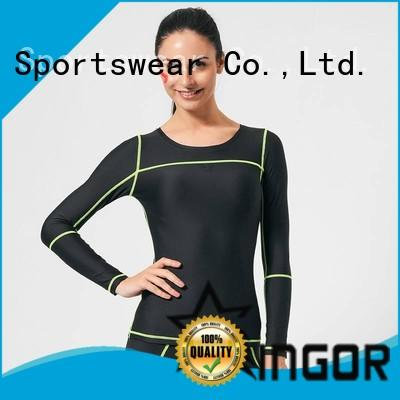 INGOR running Black Sweatshirt to keep you staying clean and dry for sport