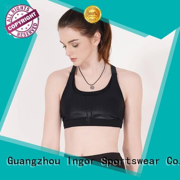 colorful sports bras sexy grey sports bra purple INGOR Brand