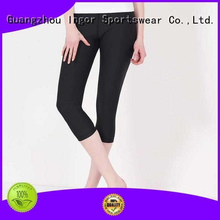 Custom patterned print yoga pants INGOR women