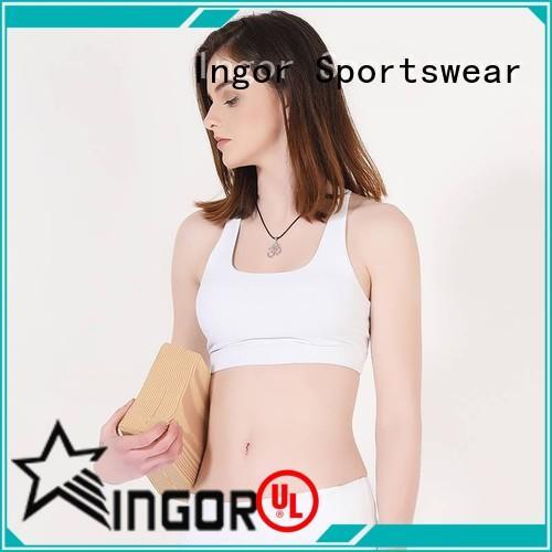INGOR wireless best cotton sports bra on sale for girls