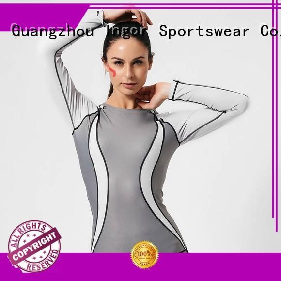Wholesale sleeve design Sports sweatshirts INGOR Brand