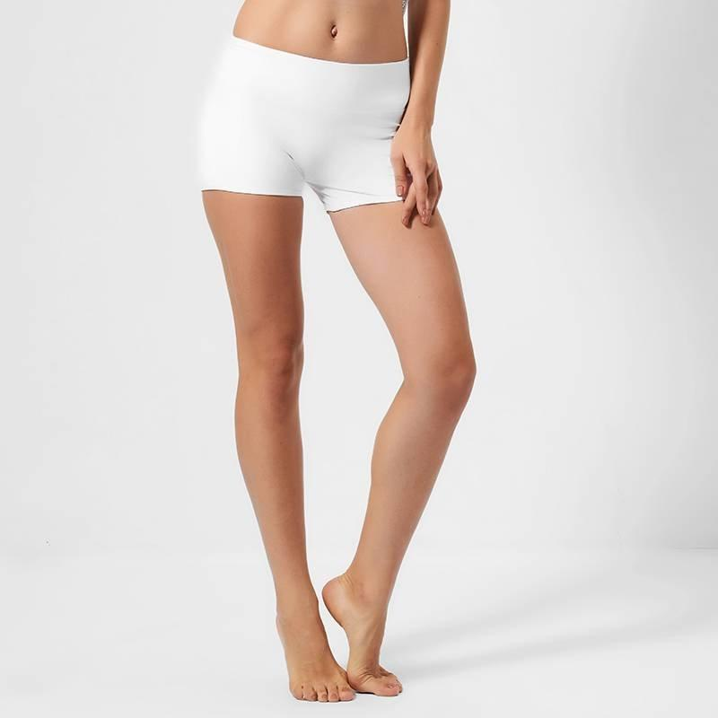 High waisted workout white hot yoga shorts GLS16001