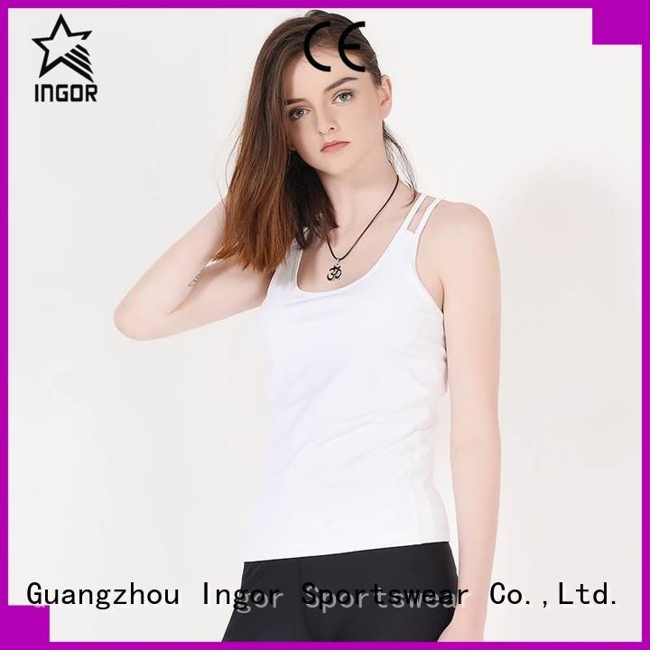 bulk women's workout tank tops workout tank INGOR Brand