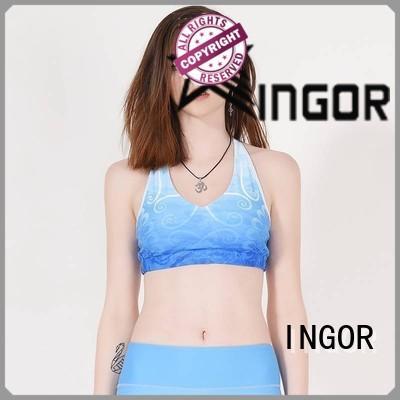 INGOR sexy women's sports bra top for girls