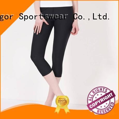 ladies leggings fashion capri yoga pants INGOR Brand