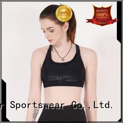 INGOR Brand white sports bra top factory