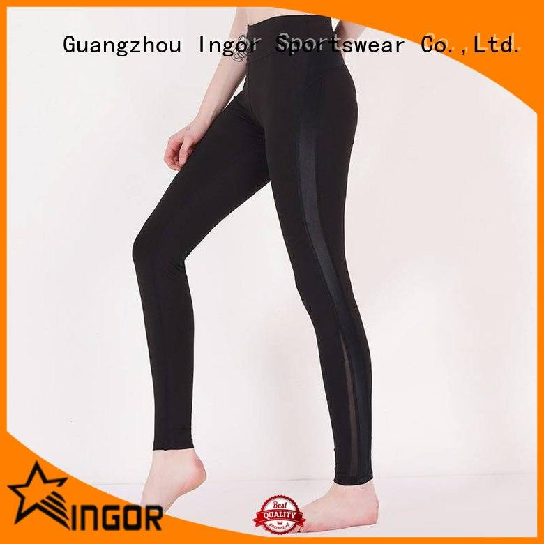 INGOR durability leggings with four needles six threads for ladies