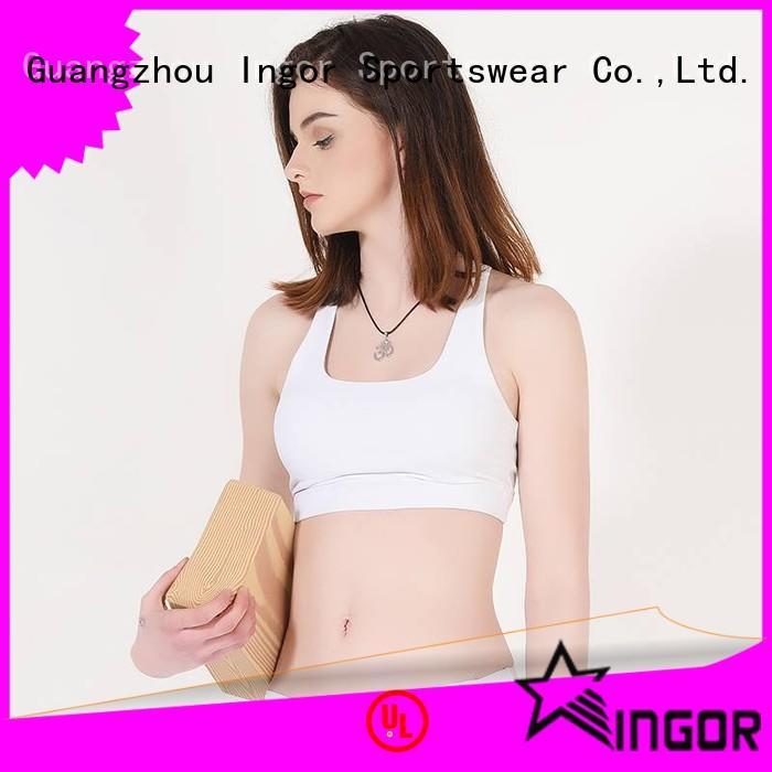 bras workout INGOR Brand colorful sports bras factory