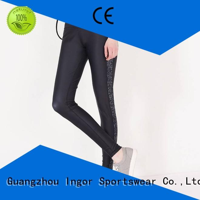 leggings ladies  with four needles six threads for sport INGOR