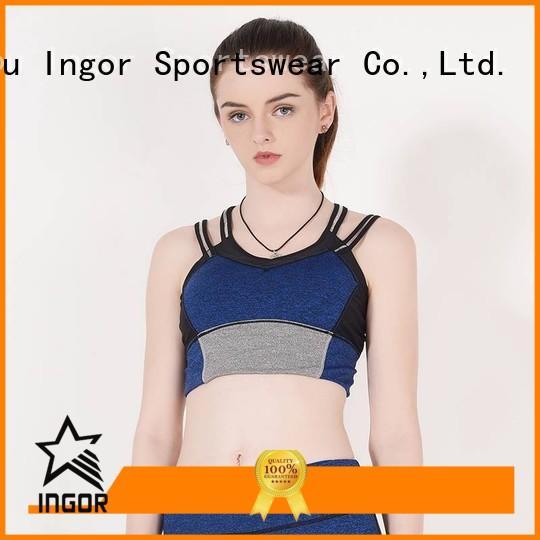 INGOR Brand ingor colorful sports bras wireless supplier