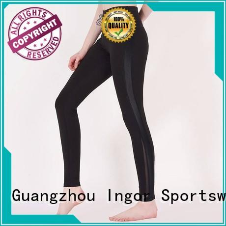 waist tights running waisted ladies leggings INGOR Brand