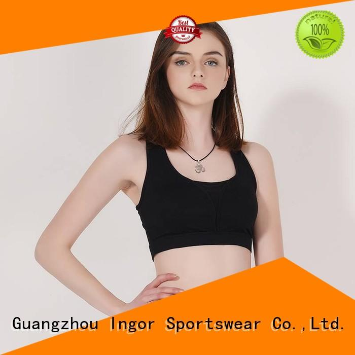soft compression sports bra with high quality for sport