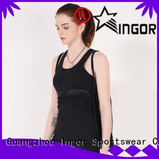 INGOR summer crop tank with high quality for sport