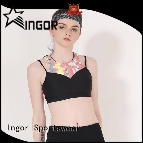 INGOR breathable the best sports bra with high quality for sport