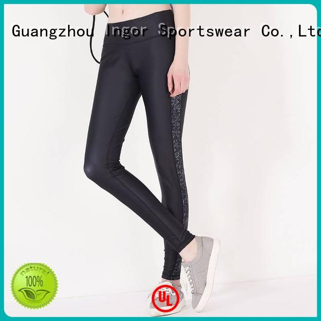 INGOR Brand mesh leggings custom ladies leggings