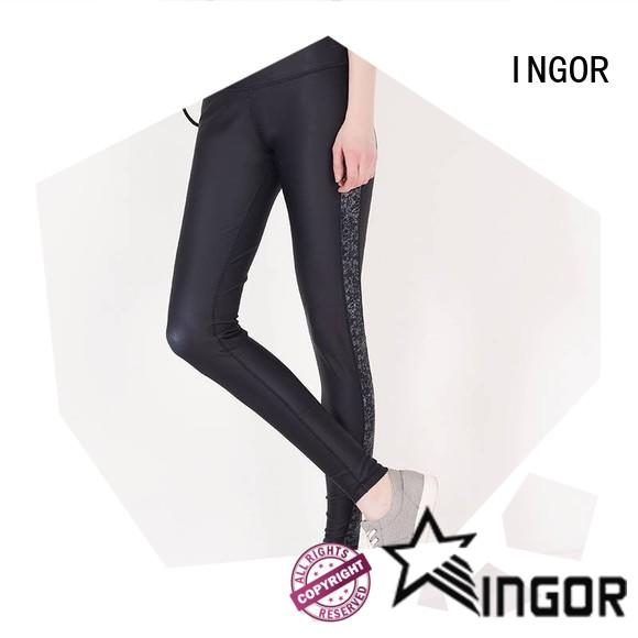 convenient tie yoga leggings activewear with high quality for women