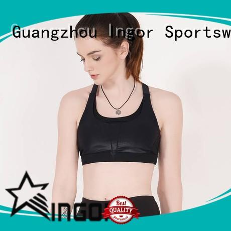 medium sports bra burgandy INGOR company
