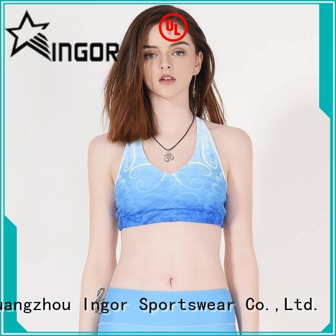 Quality INGOR Brand sports design sports bra