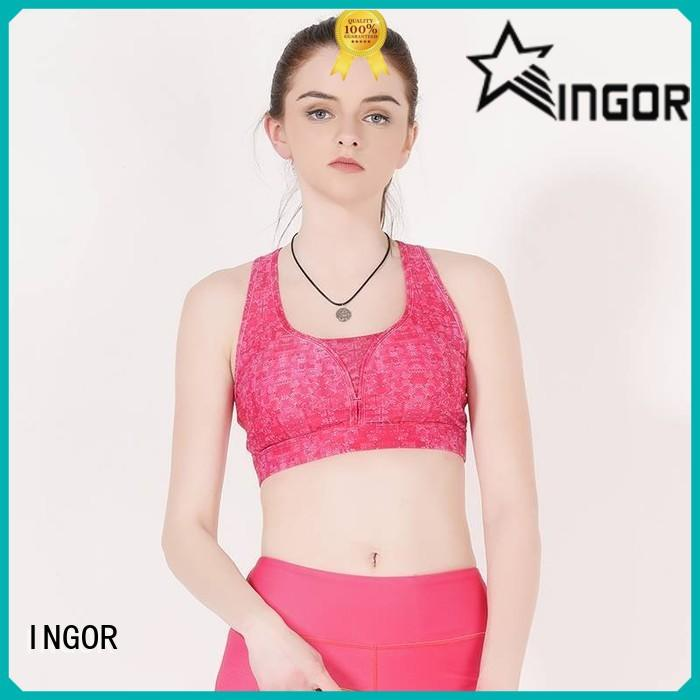 comfortable sports bra strappy for ladies INGOR
