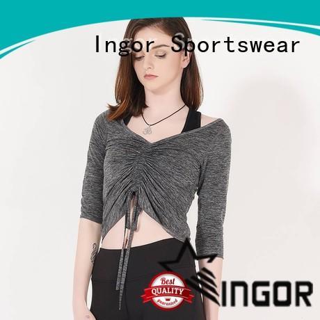 INGOR women Black Sweatshirt on sale at the gym