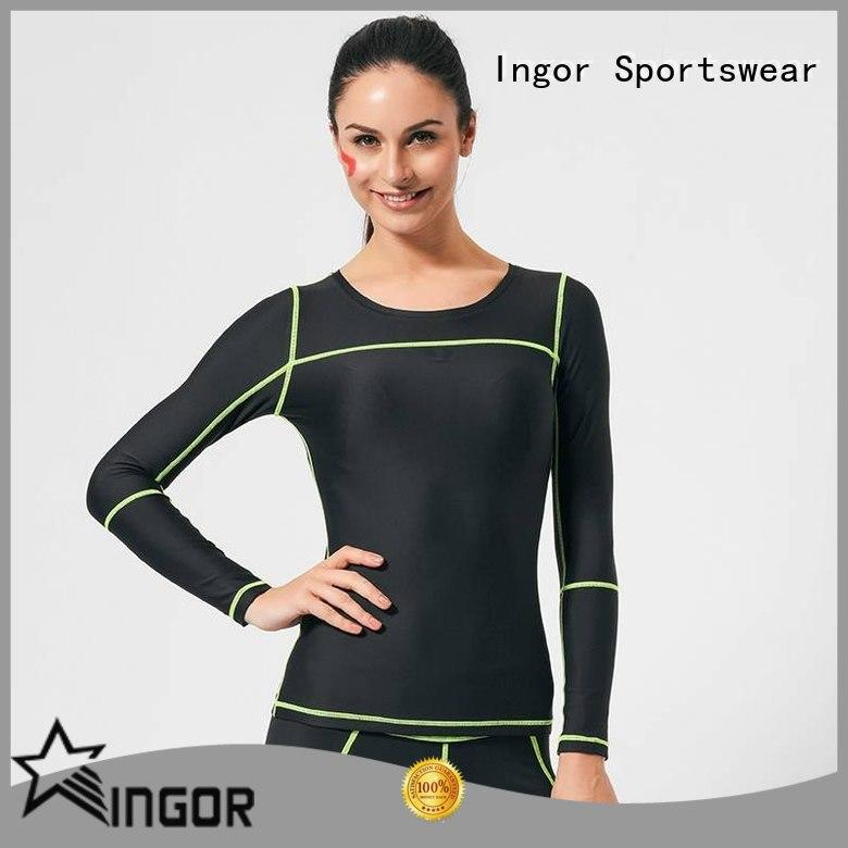 INGOR breathable Sports sweatshirts with high quality for sport