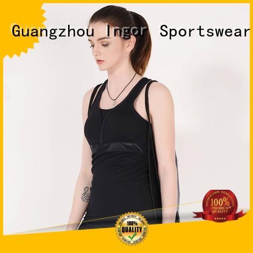 women's workout tank tops bodybuilding mesh INGOR Brand
