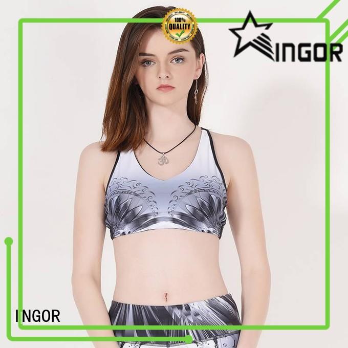 INGOR longline compression sports bra on sale at the gym
