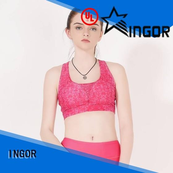 INGOR sexy high impact sports bra online to enhance the capacity of sports at the gym